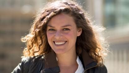 Katherine Maher im Jahr 2014