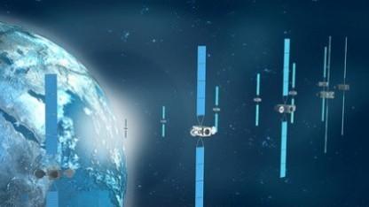 Satelliten (Symbolbild): die fünf meistgenutzten Bahnebenen ständig im Blick