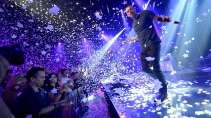 Coldplay bei einem Konzert