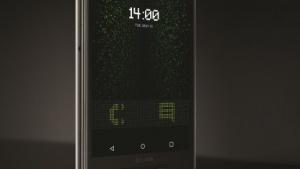 """Sirin-Phone mit """"Secure UI"""" im Matrix-Gedächtnislook"""