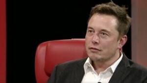 Elon Musk auf der Konferenz Code