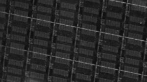 Wafer mit HCC-24-Kern-Dies in 14FF-Verfahren alias Broadwell-EX