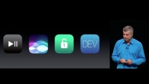 Apple stellt TVOS 4 vor.