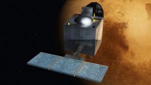 Die Raumsonde Mangalyaan erreichte 2014 den Mars.