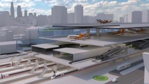 Centairstation: der Flughafen auf dem Bahnhof