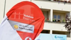 Vodafone-Messestand auf der Cebit 2016