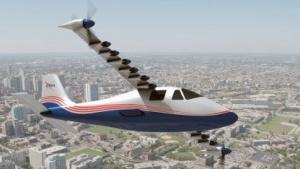 Elektroflieger X-57 Maxwell: kein Verbrennungsmotor als Range Extender