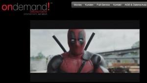 Website von On Demand Deutschland