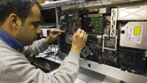 iMac-Reparatur im Jahr 2011