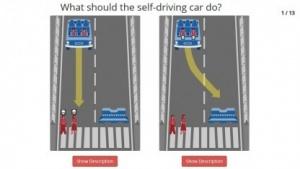 Wie soll sich das Auto in dieser Situation verhalten?