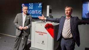 Vodafones 5G-Versuch auf der Cebit 2016