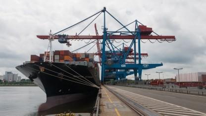 CTA: Containerterminal fängt Ökostromspitzen ab