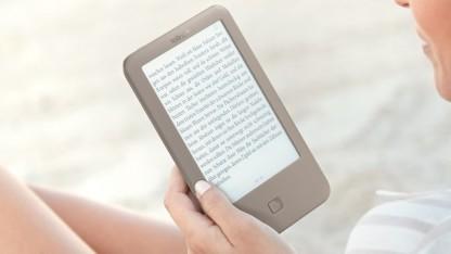 E-Book-Reader Page ist für 70 Euro verfügbar.