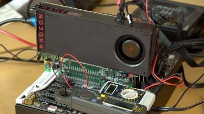 Leistungsaufnahme-Messung der Radeon RX 480