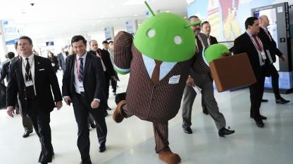 Ein taumelnder Androide - die Verschlüsselung ist leider unsicherer als gedacht.