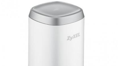 Zyxels Mobilrouter ist etwas kleiner als eine Getränkedose.