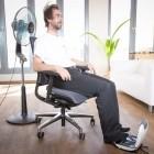 Klöber Klimastuhl im Test: Wenn der Sitz leise säuselt