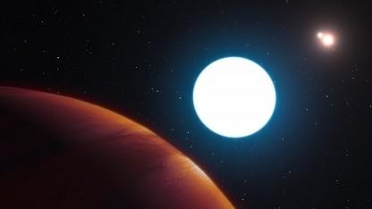 Exoplanet HD 131399Ab: ein Jahr dort dauert 550 Erdenjahre