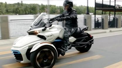 Can-Am Spyder mit Elektroantrieb