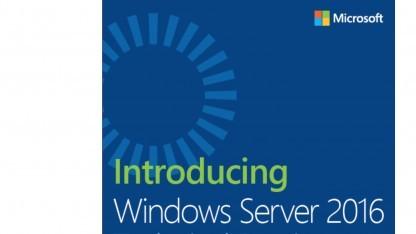 Der Windows Server 2016  ist bald fertig.