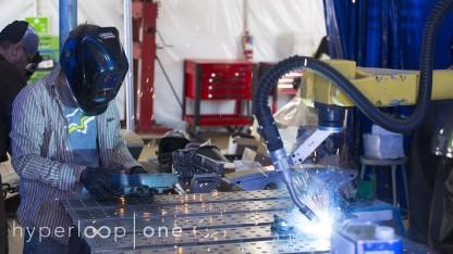 Geschäftsräume von Hyperloop One: Führungen und Partys für Freunde und Prominente