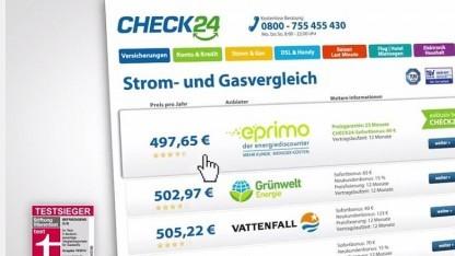 Werbevideo von Check24