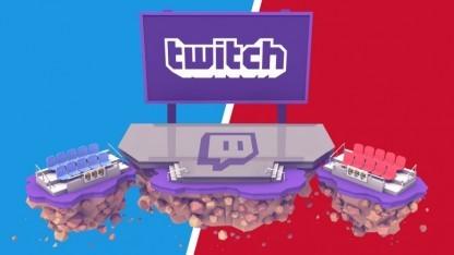 Logo von Twitch für die Übertragung der Parteitage
