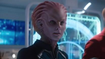 Außerirdischer Sternenflottenvertreter in dem neuen Film Star Trek Beyond
