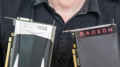 Geforce GTX 1060 gegen Radeon RX 480