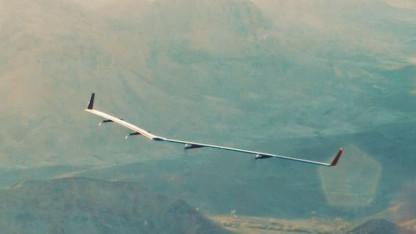 Solardrohne Aquila: beschädigt beim  Erstflug
