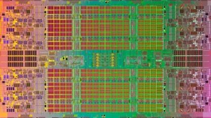Die eines Itanium-Chips vom Typ Poulson
