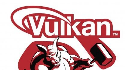Vulkan hat breite Unterstützung in der Industrie.