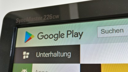 Downloads aus dem Play Store werden kleiner.