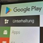 Neuer Algorithmus: Google verkleinert App-Downloads aus dem Play Store