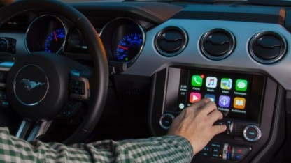 Sync 3 in einem Ford Mustang