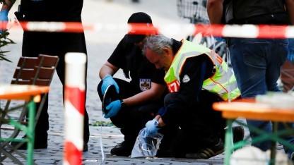 Spurensuche nach dem Selbstmordanschlag im bayerischen Ansbach