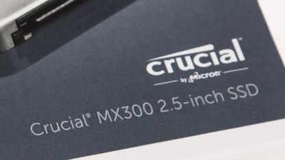 MX300 als 2,5-Zoll-SSD