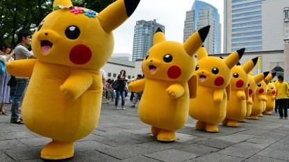 Pikachu-Armeen sind für ihren gnadenlosen Drill bekannt.
