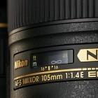 Objektiv: Lichtstarkes Nikon 105 mm 1,4E ED für Porträts