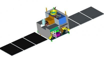 QSS soll Quantenkryptographie per Satellit testen.