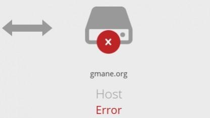 Der Webdienst von Gmane ist derzeit nicht erreichbar.
