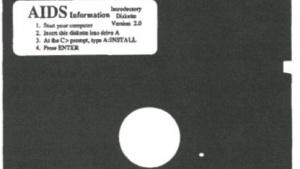 Der AIDS Information Trojaner infizierte mehr als 1.000 Rechner - bereits im Jahr 1989.