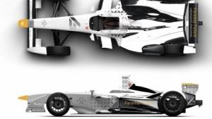 Formel-E-Fahrzeug von Faraday Future