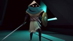 Unser Protagonist in Necropolis