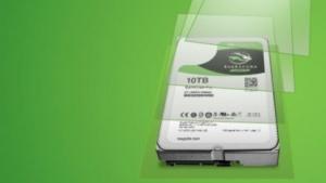 Seagate erweitert die Anzahl der Festplatten mit 10 TByte.