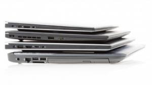 Gestapelte Note- und Ultrabooks