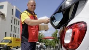 Paketbote nutzt Smart als Lieferadresse