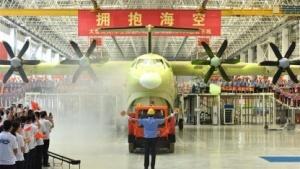 Die AG600 ist das größte Wasserflugzeug der Welt.