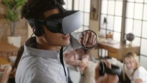 Oculus Touch im Einsatz