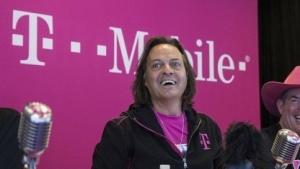 T-Mobile-Chef John Legere legt die Quartalszahlen vor.
